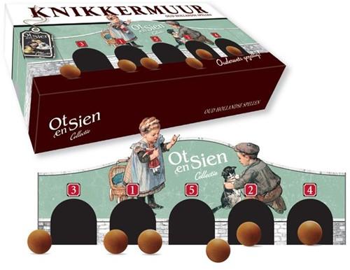 Knikkermuur -oud Hollandse spellen