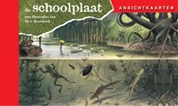 Ansichtkaarten, de Schoolplaat