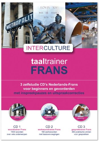 Interculture taaltrainer -3 zelfstudie CD's Nederla rans voor beginners en gevorde HEEMSKERK, J.L.