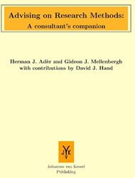 Advising on research methods: A consulta -a consultant's companion Ader, Herman