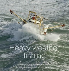 Heavy weather fishing -aerial photography of the Dutc h fishing on the Northsea in b IJsseling, H.A.