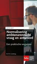 Normalisering ambtenarenrecht vraag en a Lunenburg, P.