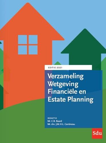 Verzameling Wetgeving Financiele en Esta -Editie 2021