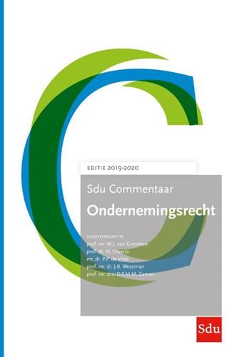 Sdu Commentaar Ondernemingsrecht -Editie 2019-2020