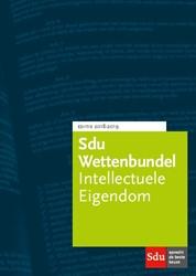 Sdu Wettenbundel Intellectuele Eigendom. -Studiejaar 2018-2019