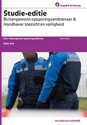 Buitengewoon opsporingsambtenaar & h -deel 1 Buitengewoon opsporings ambtenaar Sterk, Aart