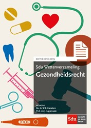 Sdu Wettenverzameling Gezondheidsrecht.