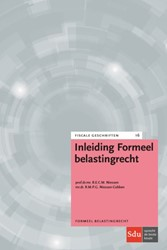 Inleiding Formeel Belastingrecht Niessen, R.E.C.M.