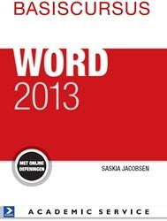 Basiscursus Word 2013 Jacobsen, Saskia