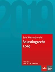 Sdu Wettenbundel Belastingrecht 2019