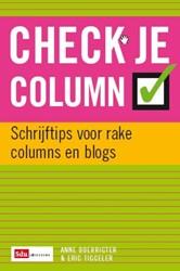 Check je column -tips en antitips voor rake col umns en blogs Boerrigter, Anne