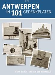 Antwerpen in 101 gedenkplaten Schoeters, staf