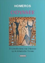 Editio maior ODYSSEE -De zwerftochten van Odysseus o p de Atlantische Oceaan Homeros