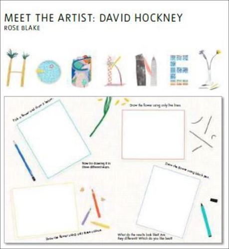 Meet the Artist: David Hockney Blake, Rose