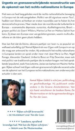 Eigen volk -Hoe het rechts-nationalisme Eu ropa veroverde Rijken, Kemal-2