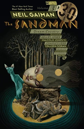 The Sandman Volume 3 -Dream Country 30th Anniversary Edition Neil Gaiman