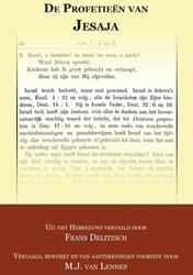 De Profetieen van Jesaja Delitzsch, Franz