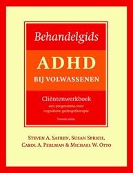 Behandelgids ADHD bij volwassenen, clien Safren, Steven A.