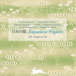 Japanese Paper -150+ images on CD Roojen, Pepin van