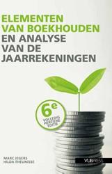 Elementen van boekhouden en analyse van Jegers, Marc