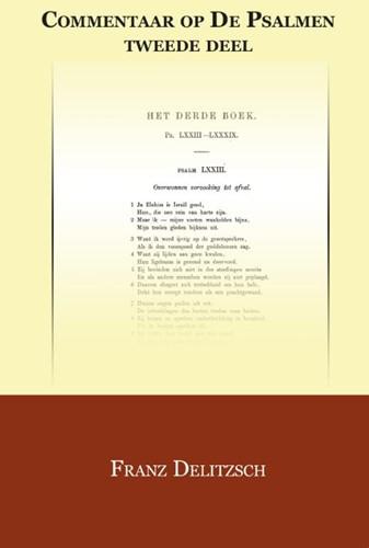 Commentaar op de Psalmen Delitzsch, Franz