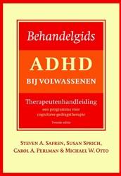 Behandelgids ADHD bij volwassenen, thera Safren, Steven A.