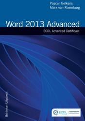 Word 2013 Advanced -ecdl advanced certificaat Tielkens, Pascal