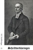 Schriftverklaringen 21 Kohlbrugge, H.F.