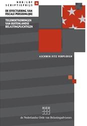 De effectuering van fiscale persoonlijke Verploegh, Aschwin Fitz