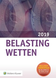 Belastingwetten - pocketeditie 2019