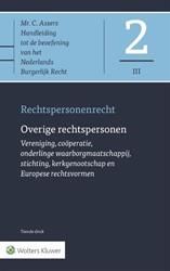 Asser 2-III Overige rechtspersonen -Rechtspersonenrecht Rensen, G.J.C.