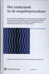 Het onderzoek in de enqueteprocedure Hermans, R.M.