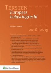 Teksten Europees belastingrecht 2018/201