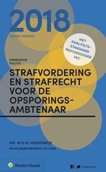 Zakboek Strafvordering en Strafrecht voo Hoekendijk, M.G.M.