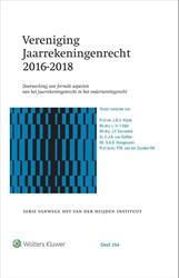 Vereniging Jaarrekeningenrecht 2016-2018 -Doorwerking van formele aspect en van het jaarrekeningenrecht