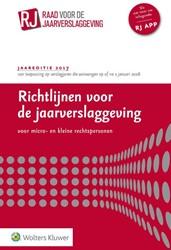Richtlijnen voor de Jaarverslaggeving vo -voor micro- en kleine rechtspe rsonen