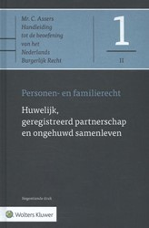Asser-serie 1-II : Huwelijk, geregistree -Personen- en familierecht