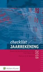 Checklist jaarrekening 2018 -Toepassing jaarrekeningvoorsch riften Titel 9 Boek 2BW