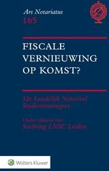 Fiscale vernieuwing op komst?