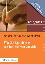 BTW Jurisprudentie van het Hof van Justi Nieuwenhuizen, W.A.P.