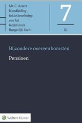 Asser-serie 7-XI : Pensioen -Bijzondere overeenkomsten Asser, C.