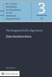 Asser-serie 3-VI : Zekerheidsrechten -Vermogensrecht algemeen