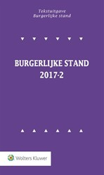 Tekstuitgave Burgerlijke stand  2017-2