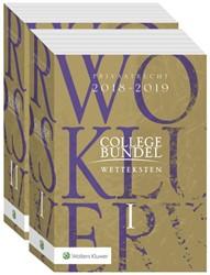 Collegebundel 2018-2019 -Wetteksten privaatrecht - publ iekrecht