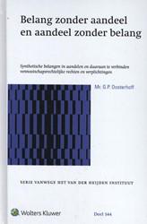 Belang zonder aandeel en aandeel zonder -synthetische belangen in aande len en daaraan te verbinden ve Oosterhoff, G.P.