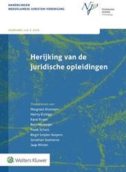 Herijking van de juridische opleidingen -Preadvies NJV 2018-1