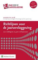 Richtlijnen voor de jaarverslaggeving 20 -Voor middelgrote en grote rech tspersonen
