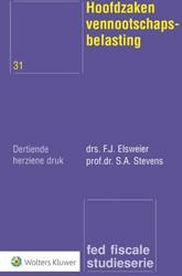 Hoofdzaken vennootschapsbelasting Elsweier, F.J.