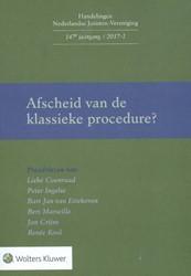 Afscheid van de klassieke procedure -preadviezen Koenraad, L.M.