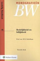 Redelijkheid en billijkheid Schelhaas, H.N.
